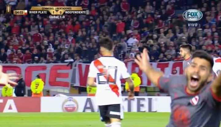Romero lo empató para el Rojo