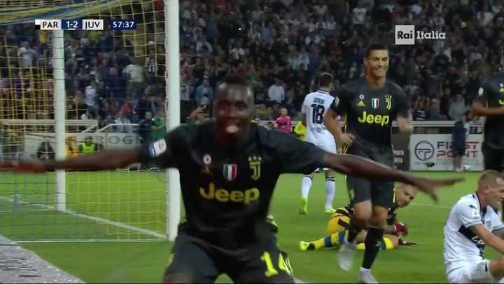 Matuidi pone en ventaja a Juventus
