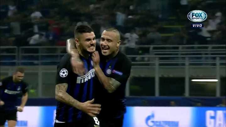 Maravilloso gol de Mauro Icardi