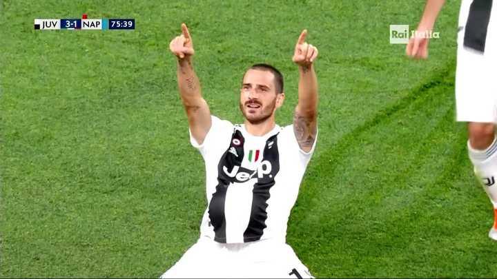 La bajó Ronaldo y Bonucci convirtió el tercero de Juventus