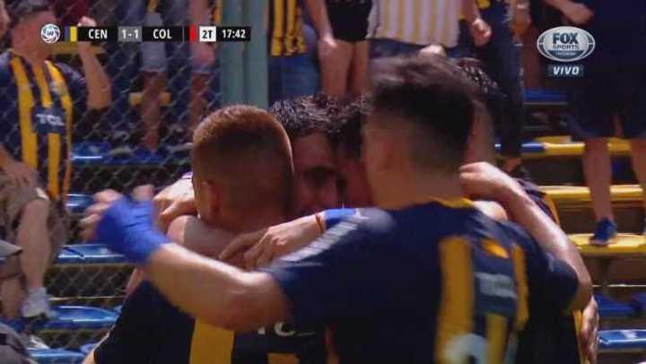 Apareció Herrera para empatar el partido