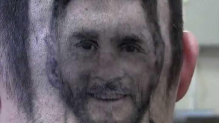 Un corte de Messi