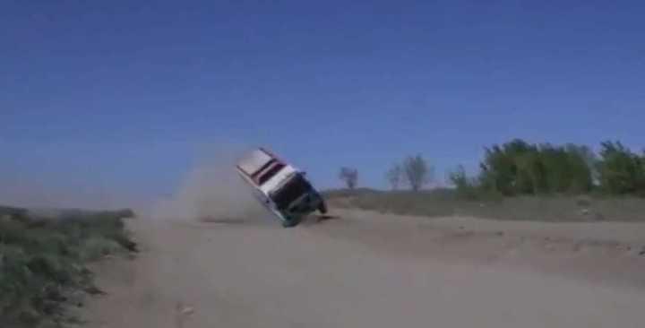 Un camión rápido y furioso