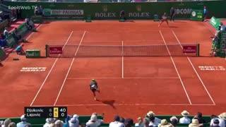 La victoria de Djokovic ante Lajovic