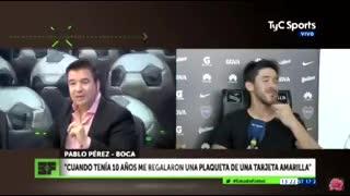 Pablo Pérez habló del juego que lo tiene como protagonista