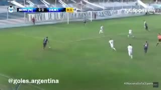 Los goles de Guillermo Brown 1 - Quilmes 2