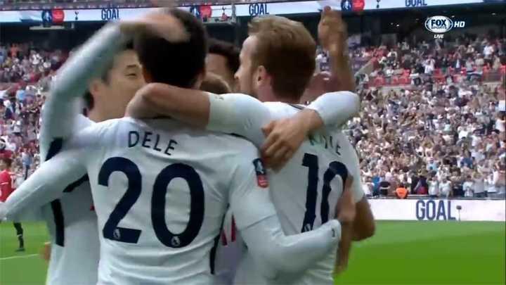El golazo del Tottenham
