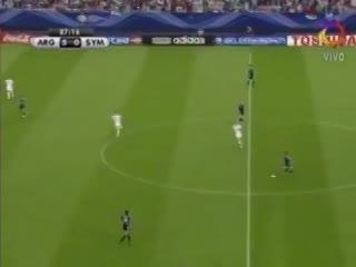El primer gol de Messi en un Mundial