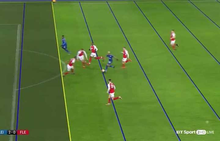 Primer gol con VAR en Inglaterra