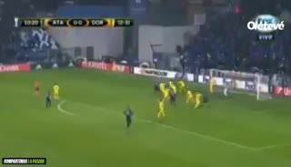 El gol de Rafael Toloi para el Atalanta