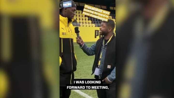 ¿Por quién hinchaba Bolt en la final del mundo?