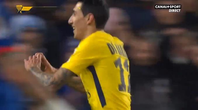 El Fideo marcó el segundo del PSG