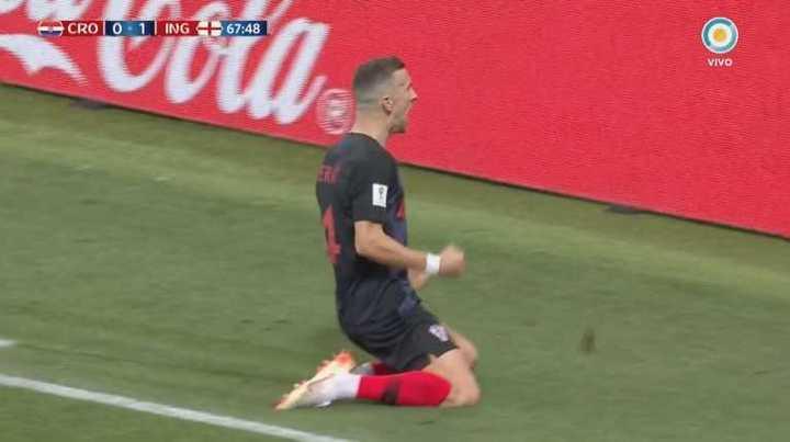 Croacia lo empató con golazo de Perišić
