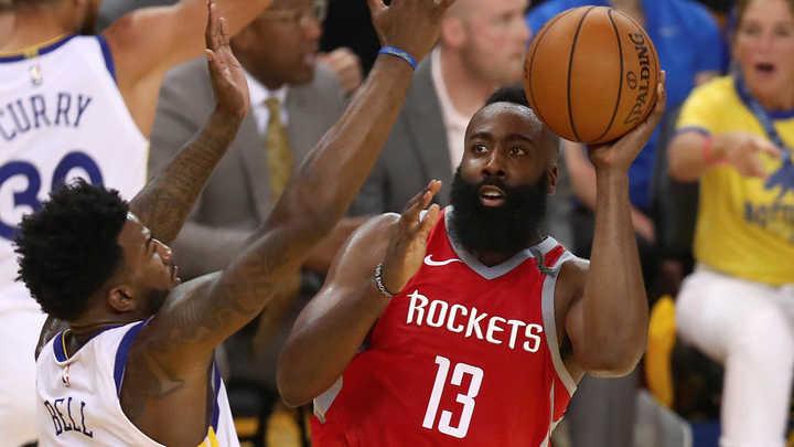 Harden, líder de los Rockets