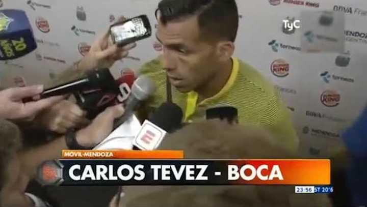Tevez dijo que perdieron por errores