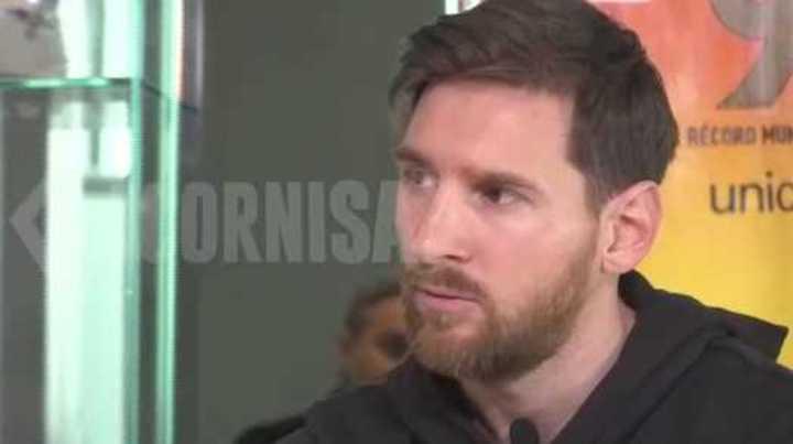 Messi contó cómo se inyectaba la hormona de chico