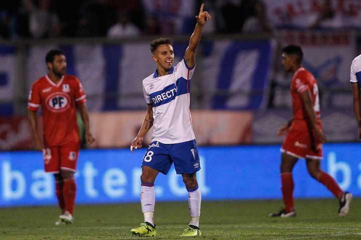 Gran gol de Buonanotte en Chile