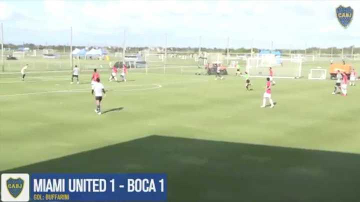 Primer gol de Boca