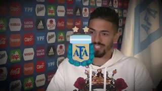 Lanzini dice que a la Argentina le tienen respeto y miedo