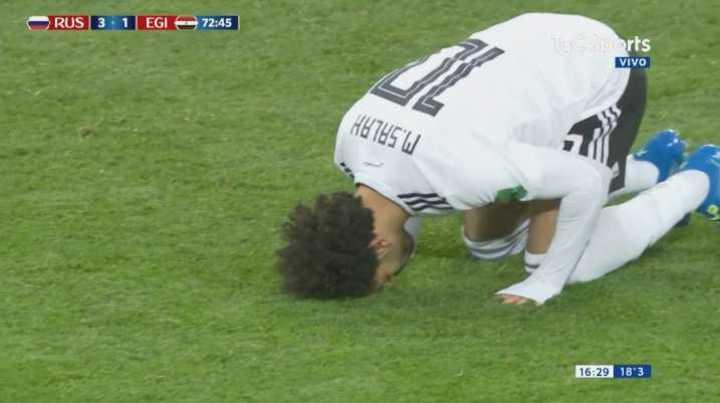 Salah descontó de penal