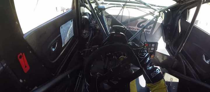 ¿Cómo es un volante de Súper TC2000?