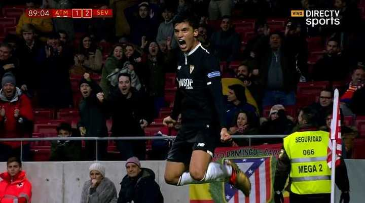 Correa marcó el de la victoria