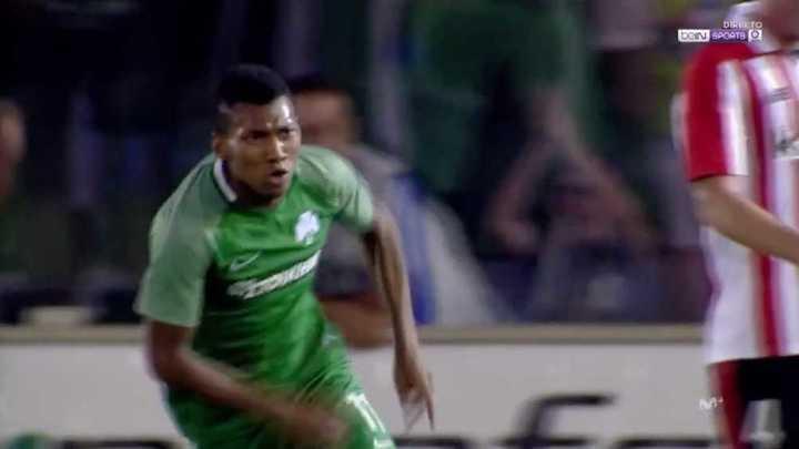 El último gol de Bryan Cabezas