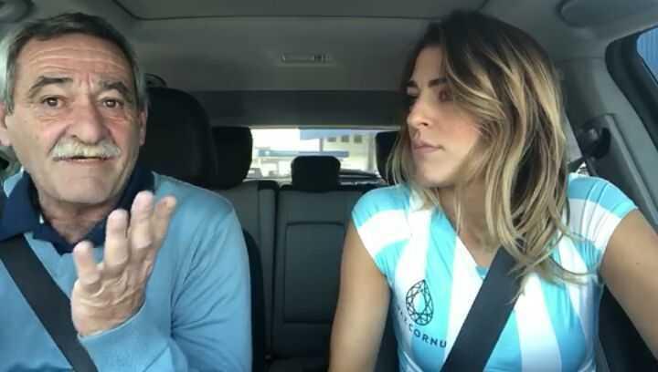 El Pato Franzoni y Natalia discuten de fútbol previo al Mundial (Instagram).