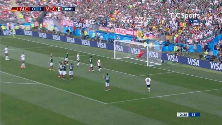 Kroos estuvo cerca del empate