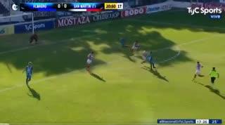 El 1-1 entre Almagro y San Martín (T)