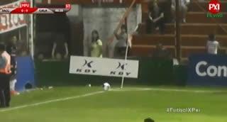 El gol de Instituto a Los Andes
