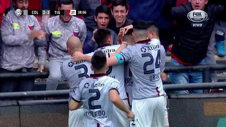 Correa empató el partido