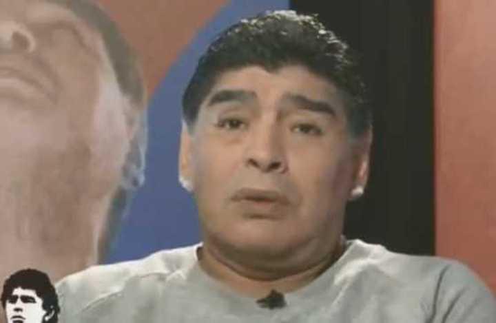 Maradona dijo que el