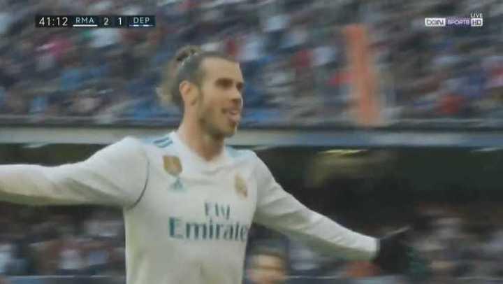¡Increíble golazo de Bale!