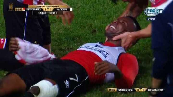 Otero logró el gol de la clasificación