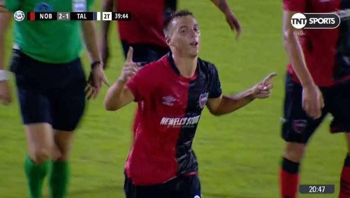 Debut con gol para Cacciabue