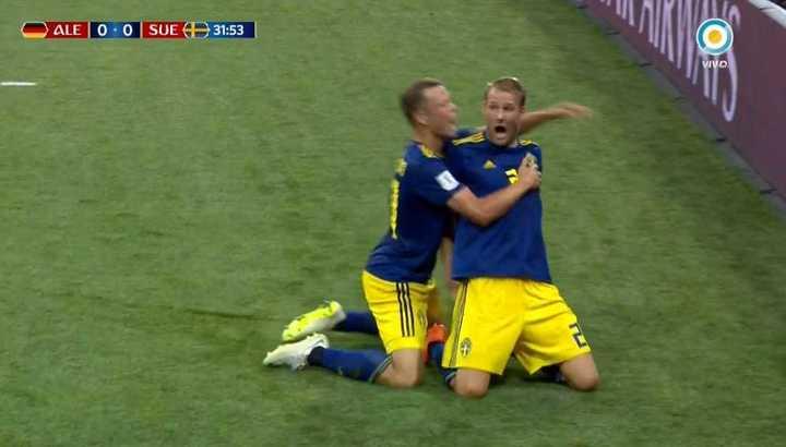 Toivonen marcó el primero de Suecia
