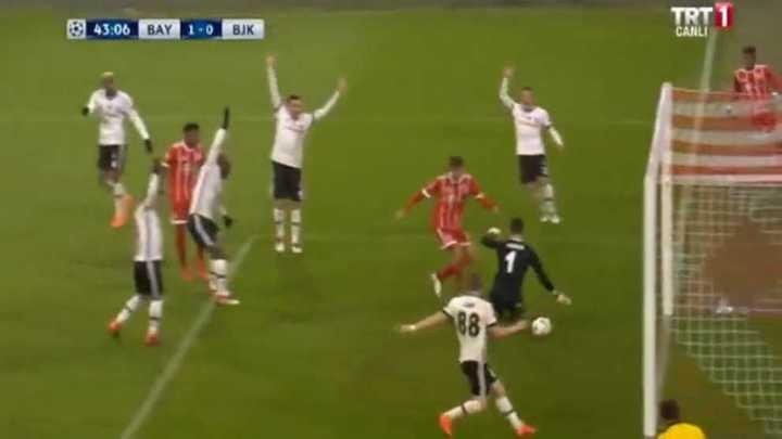 Müller marcó el primero del Bayern