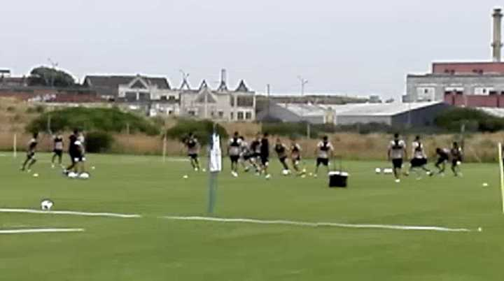 Racing de pretemporada en Mar del Plata