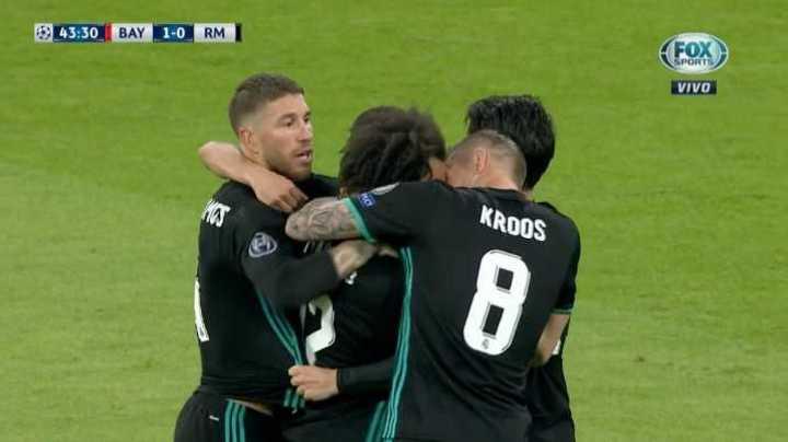 Marcelo empató el encuentro
