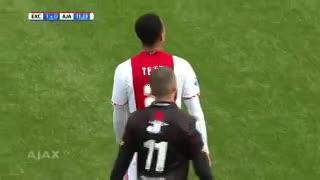 El último gol de Justin Kluivert en el Ajax