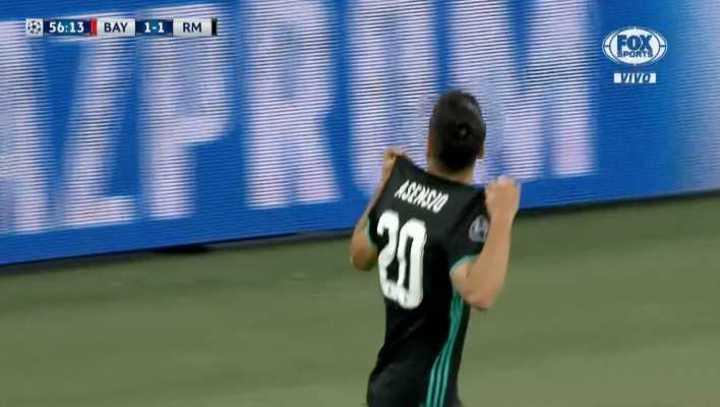 Un error de Rafinha terminó en gol de Asensio