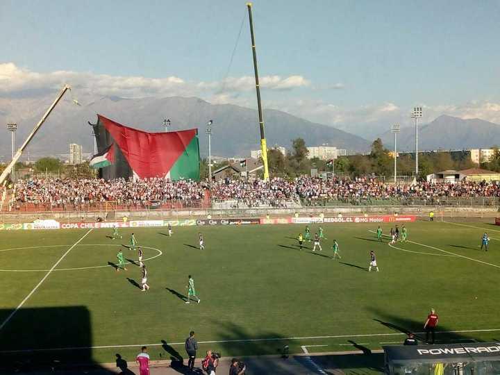 Palestino le ganó 3-2 a Audax Italiano y se llevó la Copa Chile