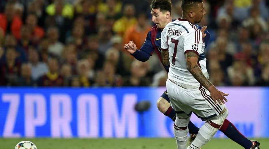 La recordada jugada de Messi a Boateng