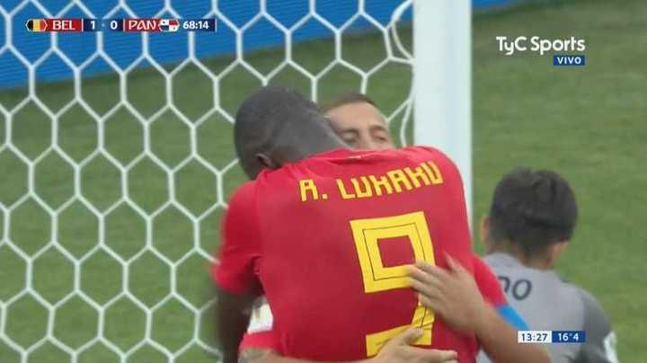 Lukaku marcó en una jugada espectacular