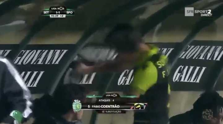 Coentrao enfureció por un penal en contra de su equipo