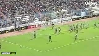 El gol perdido de Guillermo al Barcelona