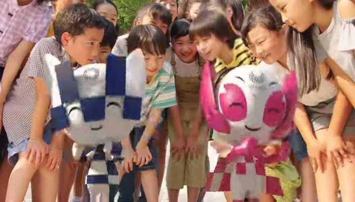 La presentación de las mascotas de Tokio 2020
