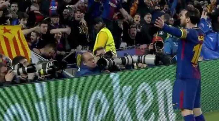Messi llegó a los 100 en Champions