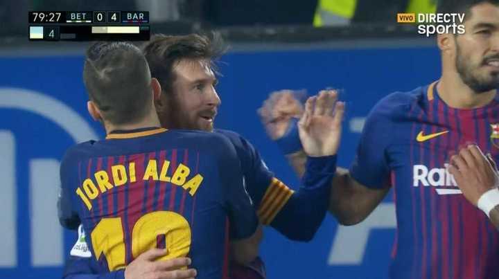 Doblete del 10, poker del Barça